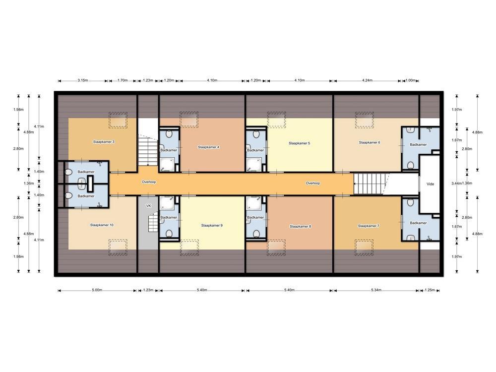 Hofstede Landduin_Buitenhuys eerste-verdieping 2d