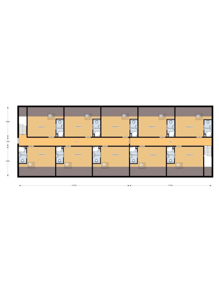 't Voorhuys 1e verdieping 2d